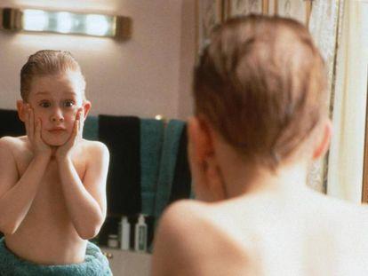 Macaulay Culkin (Kevin), en la película 'Solo en Casa'.