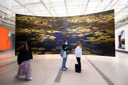 'Los nenúfares' de Demand, inspirados en la obra de Monet.