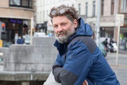 El cineasta hispanobelga José Luis Peñafuerte, director del documental 'Molenbeek. ¿Generación radical?'.