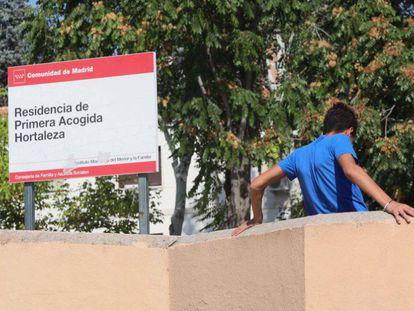 Centro de primera acogida en el barrio de Hortaleza.
