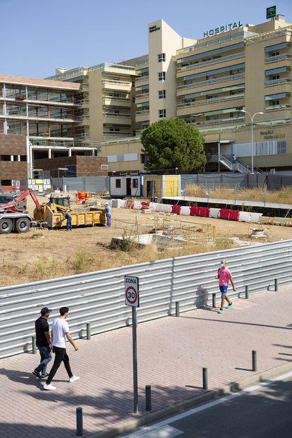 Imagen del hospital Costa del Sol, en Marbella.
