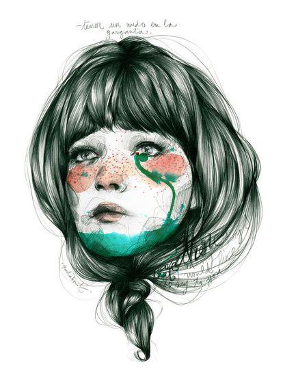 Ilustración de la propia Paula Bonet.