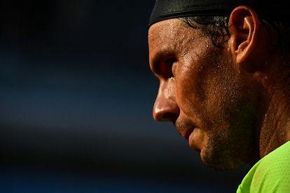 Nadal, durante la semifinal del viernes contra Djokovic en la Philippe Chatrier.
