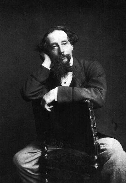Retrato de Charles Dickens poco antes de morir