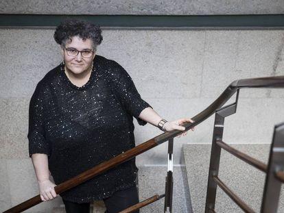 La Valedora do Pobo, Milagros Otero, en 2018.