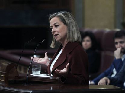 Intervención de Ana Oramas, de Coalición Canaria, en la sesión de investidura.