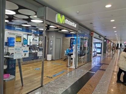Una tienda de Movistar.