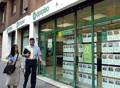 Oficinas en Barcelona de Don Piso, cadena de intermediación inmobiliaria que está en venta.
