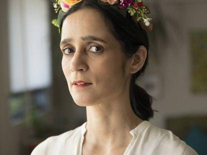 Julieta Venegas retratada el 20 de marzo en Coyoacán, Ciudad de México.