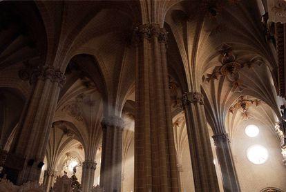 Interiores de la Catedral de Zaragoza.