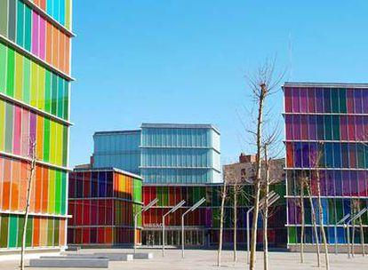 Fachada del Museo de Arte Contemporáneo de Castilla y León