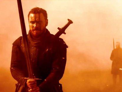 Michael Fasbender como Macbeth. / Tráiler de la película.