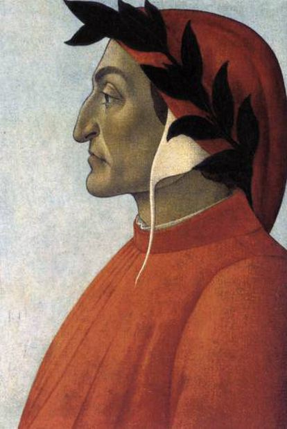 'Retrato de Dante' (1495), de Botticelli.
