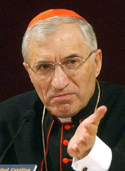 El cardenal Antonio María Rouco.