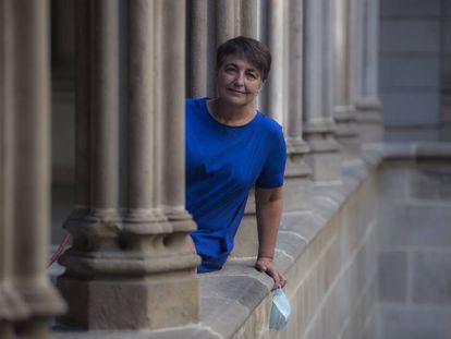 La concejal de Movilidad, Rosa Alarcón, en verano pasado.