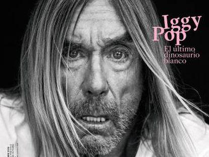 Iggy Pop, fotografiado por Gorka Postigo y vestido por Celine para la portada de ICON de octubre.