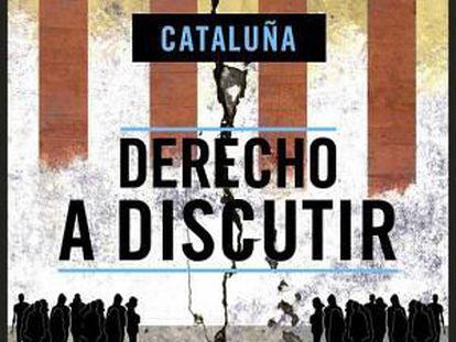 Portada del libro 'Derecho a discutir', de EL PAÍS.