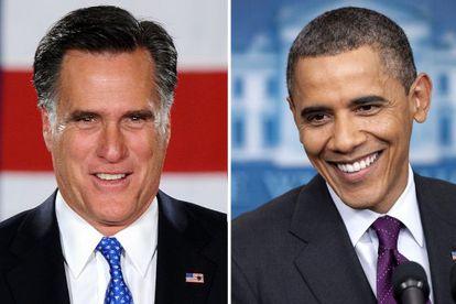 Mitt Romney y Barack Obama.