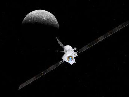 Europa explora Mercurio por primera vez con BepiColombo