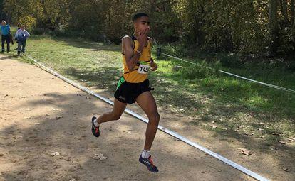 El atleta Abdessamad Oukhelfen.