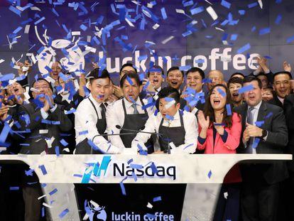 Luckin Coffee: la arriesgada estrategia del Starbucks chino
