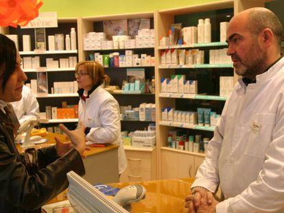 Una farmacia de Mallorca.