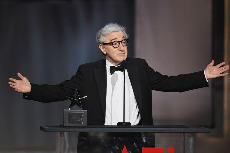 Woody Allen en el American Film Institute (Hollywood, California), en junio de 2017.