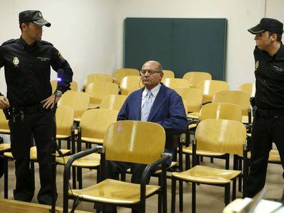 Gerardo Díaz Ferrán durante uno de los juicios a los que se ha enfrentado en los últimos años.