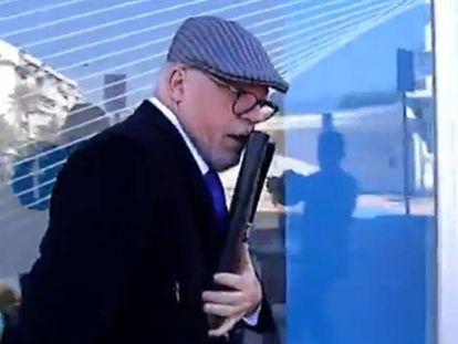 El comisario José Manuel Villarejo, en una imagen tomada de un vídeo.