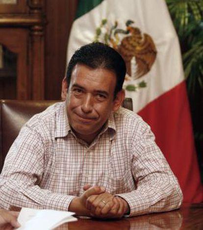 Humberto Moreira en 2009, cuando era gobernador de Coahuila.