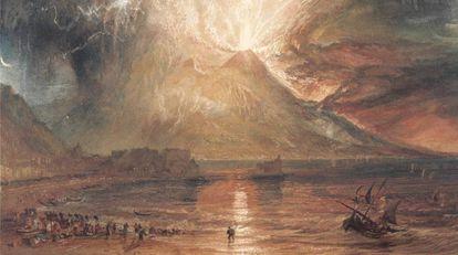 Erupción del Vesubio, de Turner (1817-1820)