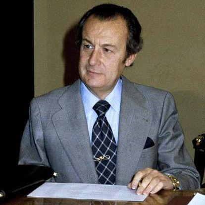 Foto de archivo de quien fuera uno de los últimos ministros de Franco, el ex titular de Comercio, Nemesio Fernández-Cuesta