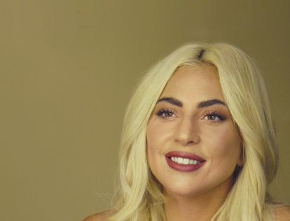 """In this image provided by Apple, Lady Gaga appears in a scene from """"The Me You Can't See."""" (Apple via AP)"""