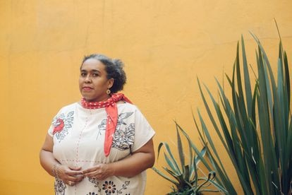 La socióloga Mónica Moreno Figueroa, en Ciudad de México.
