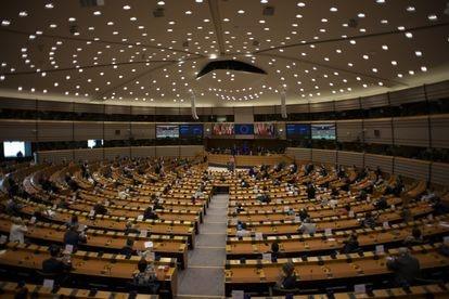 Una sesión plenaria del Parlamento Europeo en noviembre.