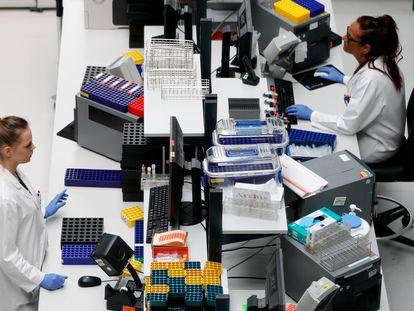 El laboratorio Bioscientia Healthcare GmbH, en Ingelheim, Alemania.