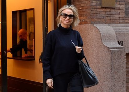 Corinna Larsen, in February 2016 in New York.