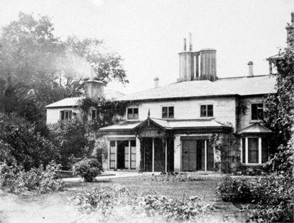 Imagen de Frogmore Cottage en 1872.