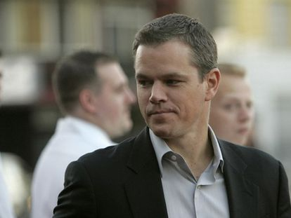 """Matt Damon se muestra """"feliz"""" por haber engordado 14 kilos para su papel en <i>The Informant</i>. """"Empecé a comer como loco y a tomar cerveza oscura. En el set, entre comidas hamburguesas y además unos Doritos. Era el paraíso absoluto"""", ha dicho. El actor ha reconocido también que después le costó quitarse esos <i>kilitos</i> de más."""