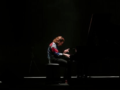 El pianista Marco Mezquida durante su inauguración del Sónar.