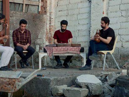 Imagen de 'Un blues para Teherán'.