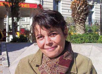 La francesa Clara Blanc, durante la entrevista en Montpellier.