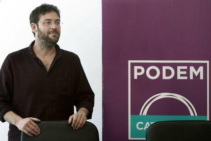 El líder de Podem, Albano Dante Fachin.