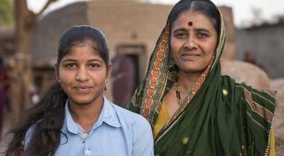 Ayshwarya y su madre fueron devadasis.