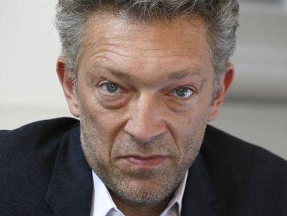El actor frances Vincent Cassel durante la presentación de 'Una semana en Córcega' en el Instituto Frances de Madrid.