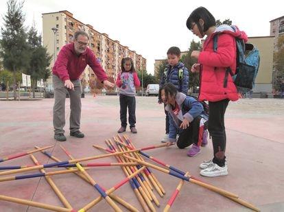 Actividades al aire libre del Ateneu del barrio de Sant Roc antes del estado de alarma.