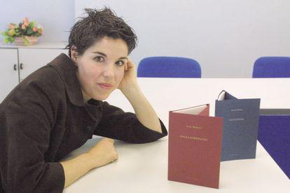 Ana Santos Payán, editora, en 2004.
