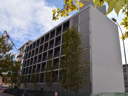 Promoción de vivienda social de la Empresa Municipal de Vivienda y Suelo de Madrid, el pasado octubre.