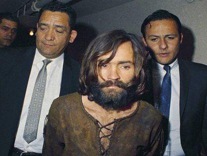 El asesino Charles Mandon en una foto de archivo de 1969.