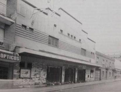 El cine Palacio años a principios de los 90.